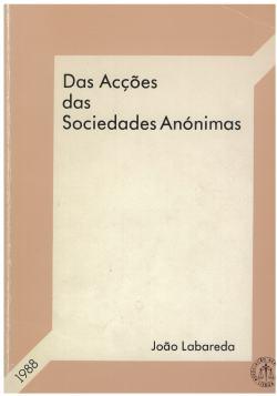 das acções das sociedades anónimas