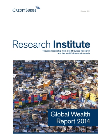 Global Wealth Report 2014
